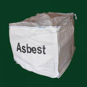 Stor bigbag til eternit og asbestholdig eternit